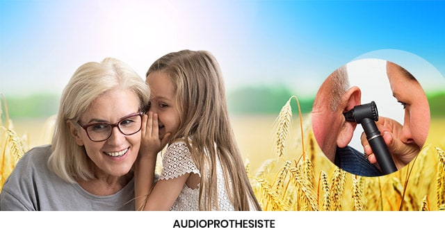 Audioprothésiste pour prothèse auditive